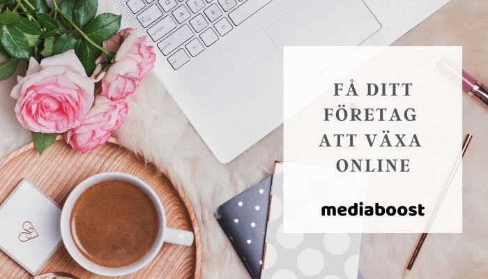 Hjälp med digital marknadsföring - Få ditt företag att växa online.